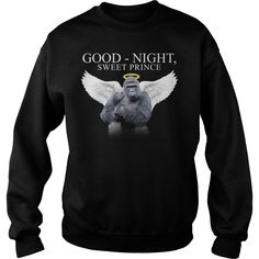 Goodnight sweet prince Harambe T shirt (Official version - Custom style)