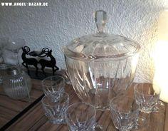 """Wunderschönes """"Bleikristall-Bowle-Set"""" für himmlische 17 € auf www.angel-bazar.de"""