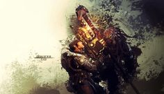 Gears of War Wallpaper - Clash by damienkerensky.deviantart.com on @deviantART