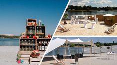 Der Seepavillon Köln ist die perfekte Location für eure Sommerhochzeit am Strand - mit zahlreichen Möglichkeiten für Outdoor Aktivitäten, inklusive Chillen an der Strandbar. → Gesehen auf kaiserschote.de | #seepavillonköln #hochzeitköln Fühlinger See, Sunshine, Fair Grounds, Travel, Air Fresh, Pavilion, Getting Married, Viajes, Nikko