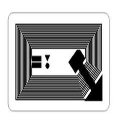 HF 14443A  RFID wet inlay 1710 NFC stciker