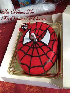 Gâteau 3D en Pâte a sucre Spiderman