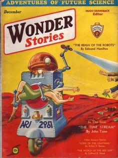Wonder Stories December 1931