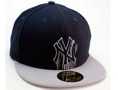 New York Yankees Wet Drip 59Fifty Fitted Baseball Cap by NEW ERA x MLB Bonés  De 327599953d0