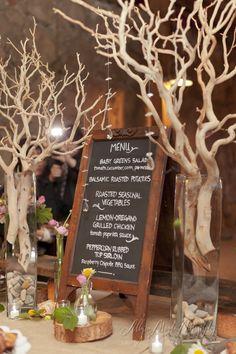 Buffet Rustic Chalkboard Menu, Santa Margarita Ranch