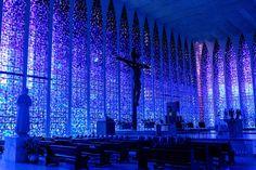 Dom Bosco Cathedral, Brasilia, Brazil