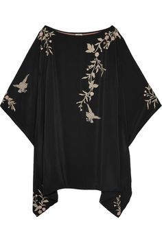 Black and blush silk Slips on 100% silk Dry clean Imported