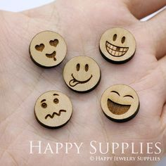 Jewelry Making Supplies Laser Cut Wooden Beads for jewelry making supplies - Happy Jewelry Supplies - High Quality DIY Laser Cut Wooden Charm Pendant Jewelry Rustic Jewelry, I Love Jewelry, Sea Glass Jewelry, Wooden Jewelry, Jewelry Making Beads, Wooden Beads, Jewelry Making Supplies, Handmade Jewelry, Silver Jewelry