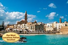 VBT's Puglia: Italy's Undiscovered Coast  Vacation my next trip in September! so can't wait