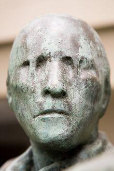 Juan Muñoz - bust - male face