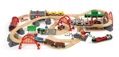 BRIO Rail & Road iso laatikko – Junaradat – Kulkuneuvot ja radat – Lelut – Verkkokauppa.com
