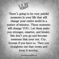 Straighten that crown!