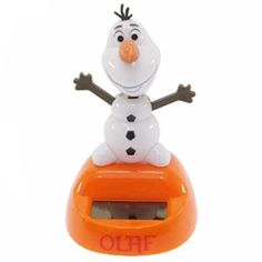 Disney Frozen Olaf Solar Powered Mini Toy 3 H Orange *** Want to know more, click on the image.