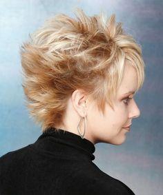 Short Hairstyle - Straight Alternative - Light Blonde | TheHairStyler.com