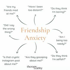 "The Anxiety Healer on Instagram: ""Who else struggles with friendship anxiety? Can you relate to any of these? Comment below! ⬇️⬇️⬇️ 〰️ Follow 👉 @theanxietyhealer for all…"""