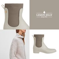 The side elastics of #Masha propose a comfortable look, but with a lot of personality. Ready for the rain and ready to rock winter nights! #LemonJellyOriginal  #lemonjelly #rainboots #booties #ankleboots