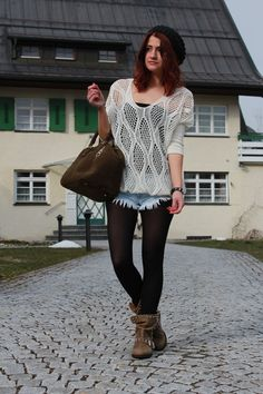 Casual with lace and fringes