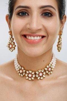 Image result for gold rajputi set