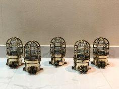 AUTHENTIC NAUTICAL ANTIQUE OLD BRASS ORIGINAL SHIP PASSAGEWAY WISKA LIGHT LOT 5 Nautical, Wall Lights, Table Lamp, Brass, Ship, The Originals, Antiques, Home Decor, Navy Marine