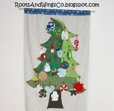 RootsAndWingsCo: My favorite Advent Calendar so far