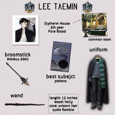 Harry Potter!AU (SHINee edition)- Taemin