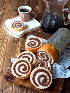 憧れのラウンドパンが、型がなくても出来ちゃう! 空き缶を使えば、ミニサイズの可愛いラウンドパンになります。