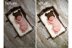 {Before  After} A Newborn Photo Editing Tutorial for Lightroom | I Heart Faces