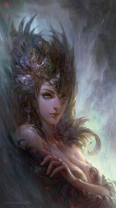 Queen by Guangjian Huang