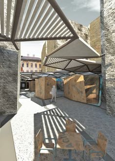 Artists Colony Market / Atelier Architects