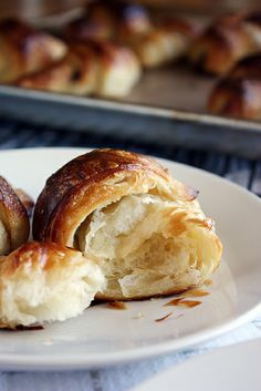 Croissants, step by step