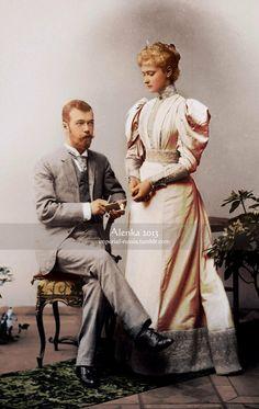 Newly Engaged Alexandra & Nicholas