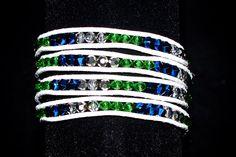 Seattle Sounders Wrap Bracelet by TeamWraps on Etsy