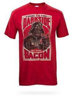 Dark Side Bacon Tee #darksidehighcholesterol