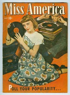 Miss America Volume 6 #1 May 1947