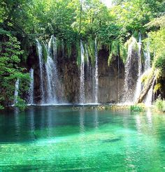 The Plitvice Lakes, Croatia