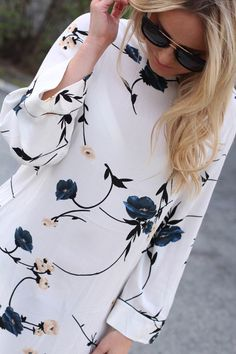 Crepe Dress, Floral Tops, Spring, Dresses, Women, Fashion, Vestidos, Moda, Top Flowers
