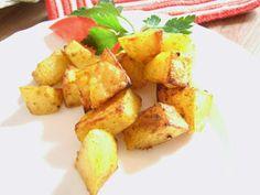 bunte halogenofenrezepte: Würzkartoffeln Snack Recipes, Snacks, Potato Salad, Chips, Potatoes, Vegetables, Ethnic Recipes, Food, Pasta Meals