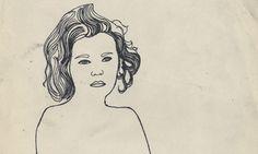 Serious Girl - Andy Warhol