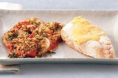 ... poached halibut with fresh corn tomato salad karen fischer fish