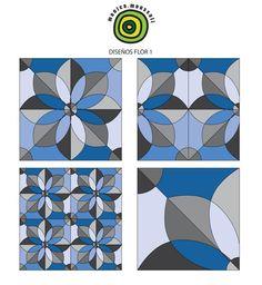 """""""Al lanzarte en el mundo de las formas, la materia se queda a ser poca cosa""""#TILES #Design #Ceramic #Mexico #surface"""