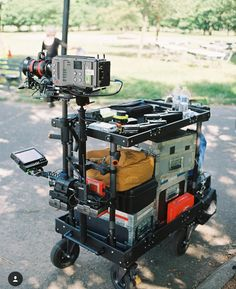 Fantastic gear shot by @johnkopec featuring the Arri Amira on the prestigious @inovativ grip cart! by filmschool