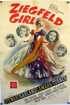 """ZIEGFELD GIRL"" MOVIE POSTER"