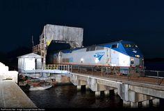 RailPictures.Net Photo: AMTK 832 Amtrak GE P40DC at Jacksonville, Florida by Baxter Barnes