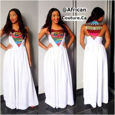 African Couture -  Limited Edition Nimah Long Dress, Up to 70% Off Shop Now (http://www.africancouture.ca/limited-edition-nimah-long-dress/)