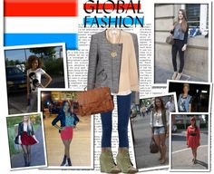 """""""Global Fashion: Luxembourg"""" by fashionistatrendy ❤ liked on Polyvore"""