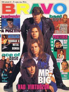 Eric Martin Paul Gilbert Billy Sheehan Pat Torpey Mr. Big music band rock 90's