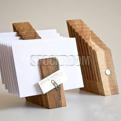 Solid Oak Wood Card holder - HKD 399 - http://www.stockroom.com.hk/solid-oak-wood-card-holder-p-401.html
