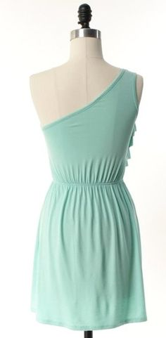 The Ruffle and Flow Mint Dress - Adabelle's Fashion Lounge