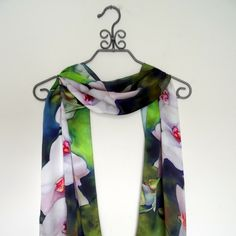 A personal favorite from my Etsy shop https://www.etsy.com/listing/248037559/angelic-orchids-tropical-silk-satin