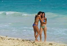 Local girls in Playa del Carmen, Mexico